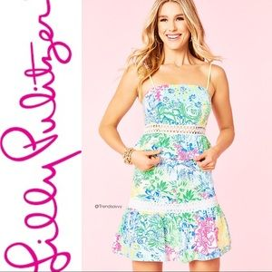 NWT LILLY PULITZER Crop Top & Skirt Set Size 10